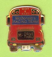 Pin's Mac Do McDonald's Bus Autobus - 1BB27 - McDonald's