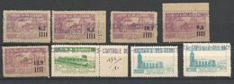 LOT ALGERIE COLIS POSTAUX  NEUF** LUXE  SANS CHARNIERE  / MNH / COTE MAURY 140€ - Algérie (1924-1962)