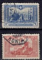 TR+ Türkei 1914 Mi 234-35 Konstantinopel - 1858-1921 Osmanisches Reich