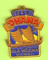 Pin's Mac Do McDonald's Ohana Bateau - 10BB04 - McDonald's