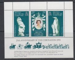 British Antarctic Territory (BAT) 1978 25th. Ann. Of The Coronation 3v ** Mnh (41551F) - Ongebruikt