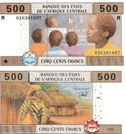 Etats D'Afrique Centrale 500 Francs - Centraal-Afrikaanse Staten
