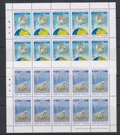 Europa Cept 2001 Vatican City 2v 2 Sheetlets ** Mnh (41552H) - 2001