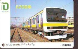 Carte Prépayée  Japon * TRAIN *  JR * IO * CARD * (4952) Japan Prepaid Card * ZUG * Karte * TREIN * IO * - Trains