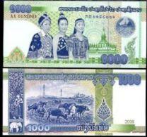 Laos 2000 Kip 2011 Pick NEW UNC - Laos