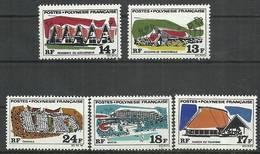 French Polynesia 1969 Mi 103-107 MNH ( ZS7 PLY103-107 ) - Vacances & Tourisme