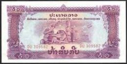 Laos 50 Kip (ND) Pick 22b UNC - Laos