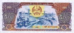 Laos 500 Kip 1988 Pick 31 UNC - Laos