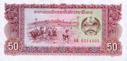 Laos 50 Kip 1979 Pick 29 UNC - Laos