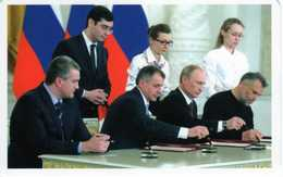 Vladimir Putin And Sevastopol & Crimean Leaders: Accession Of Crimea And Sevastopol To Russian Federation - Events