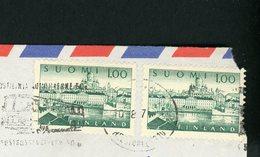 FINLANDE - N°Yt 544 (2X) SUR LETTRE, OBLITÉRÉ HELSINKI DE 1971 POUR LA PAPOUASIE Nelle GUINÉE - Lettres & Documents