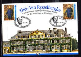 1996   Belgique , Carte Souvenir D'Emile Mayrisch, 2627 HK, Cote 8,50 €  Emission Commune Luxembourg - Cartes Souvenir