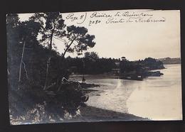 Riviere De Quimper, Pointe De Kerbernes - Photo Attribuée à Villard - Bord Supérieur Coupé Irrégulièrement - France