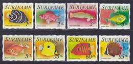 SURINAM N°  647 à 651, AERIENS 53 à 55 ** MNH Neufs Sans Charnière, TB (D7972) Poissons Tropicaux - 1976 - Surinam
