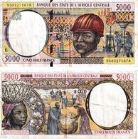 Etats D'Afrique Centrale 5000 Francs - États D'Afrique Centrale