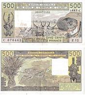 États De L'Afrique De L'ouest 500 Francs - West-Afrikaanse Staten