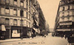 DPT 75 PARIS Rue D'Odessa - France