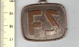 MEDAILLE 516 - F S - NAAR ITALIE VOOR EEN RZNDEZ VOUS MET DE ZON - ITALIAANSE STAADSSPOORWEGEN - Jetons & Médailles