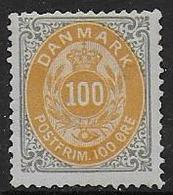 DANEMARK -  N° 29B  **  - Cote : 135,00 € - Nuovi