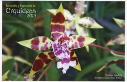 Lote PEP982, Colombia, 2015, Entero Postal, Postal Stationary, Orquidea, Oncidium Tripudians, Orchid - Colombia