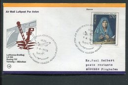 Italien / 1979 / Lupo-Brief (Erstflug) Ex Venedig (3/067) - 6. 1946-.. Repubblica