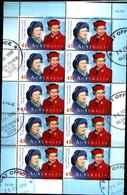 74643) Australia -1999 Australia Decimal Stamps - Queens Birthday - USATO Sheetlet - Blocchi & Foglietti