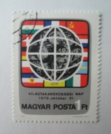 Map - Hongrie - 1979 - Hungary