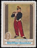 RWANDA - Scott #285 The Fifer By Manet / Mint NH Stamp - Ohne Zuordnung