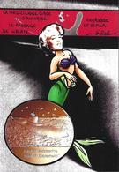 CPM Sirène Sous Marin Jihel Tirage Signé 30 Exemplaires Numérotés Signés - Fairy Tales, Popular Stories & Legends