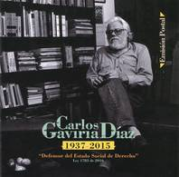 Lote 2018-26C, Colombia, 2018, Folder, Carpeta, Carlos Gaviria Diaz, Lawyer, Civil Rights Defender - Colombia