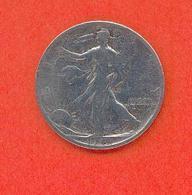 USA - ½ DOLLAR 1943 - Emissioni Federali