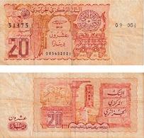 Algérie 20 Dinars - Algeria