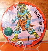 Darkball Monsters SKOO REGG 1996 - Trading Cards