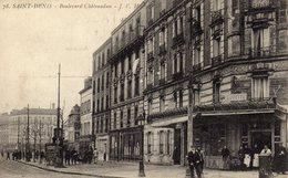DPT 93 SAINT-DENIS Boulevard Chateaudun - Saint Denis