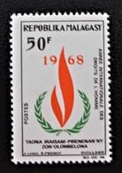 "DROITS DE L""HOMME 1968 - NEUF ** - YT 446 - MI 578 - Madagascar (1960-...)"