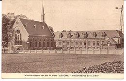 Missionarissen Van Het H. Hart ASSCHE 1910 Stempel  S. Coeur R 900 /d5 - Asse