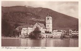 AK St. Wolfgang Im Salzkammergut - Kirche Und Schloss (38344) - St. Wolfgang