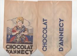 Annecy (74 Haute Savoie) Sachet (neuf) CHOCOLAT D'ANNECY  (PPP10026) - Advertising