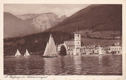 AK St. Wolfgang Im Salzkammergut - Segelboote (38346) - St. Wolfgang