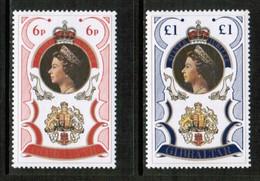 GIBRALTAR  Scott # 338-9a** VF MINT NH INCLUDING SOUVENIR SHEET  LG-971 - Gibraltar