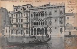 Venezia Venice - Cà D'Oro - Gondola 1906 - Italie - Venezia (Venice)