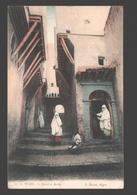 Alger - Quartier Arabe - Colorisée - 1909 - Algiers