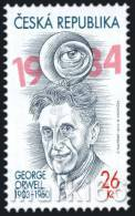 Czech Republic - 2013 - 110 Years Since Birthday Of George Orwell - Mint Stamp - Czech Republic