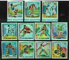EQUATORIAL GUINEA  Scott # UNLISTED** VF MINT NH 1976 SET And SOUVENIR SHEET  LG-977 - Equatorial Guinea