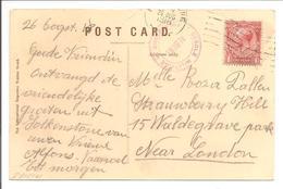 Folkstone 26.8.18>London. CERCLE MILITAIR ALBERT FOLKSTONE - Army: Belgium