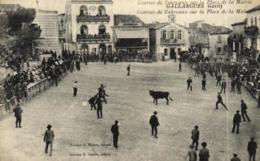 30 - Gallargues - Courses De Taureaux Sur La Place De La Mairie - C 3024 - Gallargues-le-Montueux