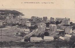 CPA Le Val-André - La Plage Et Les Villas - 1914 (38354) - Pléneuf-Val-André