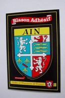 01 - BLASON  ADHESIF - - Rhône-Alpes