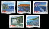 Canada (Scott No.2719-23 - Sites / UNESCO / Sites) (o) - 1952-.... Règne D'Elizabeth II