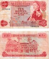 Ile Maurice 10 Roupies - Mauritius